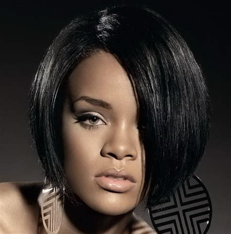 rihanna hairstyles bob haircut makes its debut on ellen todaycom rihanna short bob haircut shorts bobs and ground floor