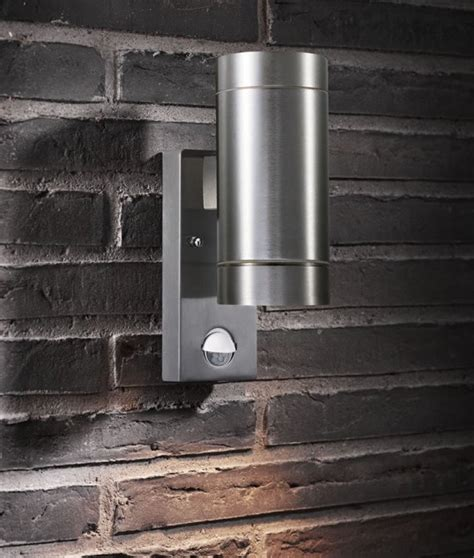 up and down lights with sensor pir exterior up down wall light