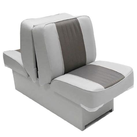 wise boat seats uk wise wd707p 1 66 gry chr back to back boat lounge seat ebay