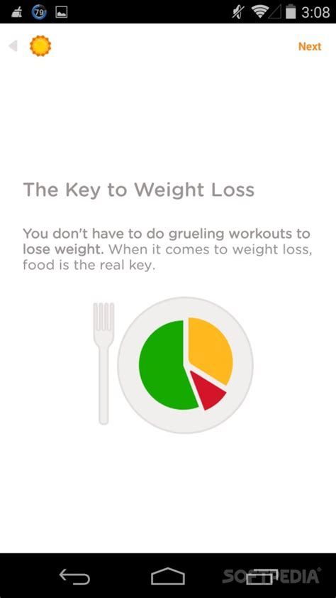 noom couch weight loss app noom