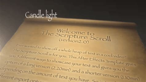 Scripture Scroll 2 0 Church Media Resource Scrolling Text After Effects Template