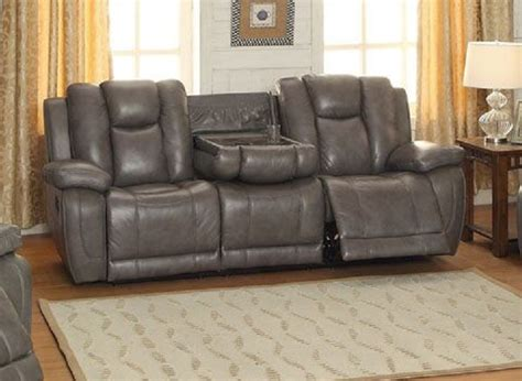 Austin Top Grain Leather Reclining Sofa Top Grain Leather Sofa Recliner