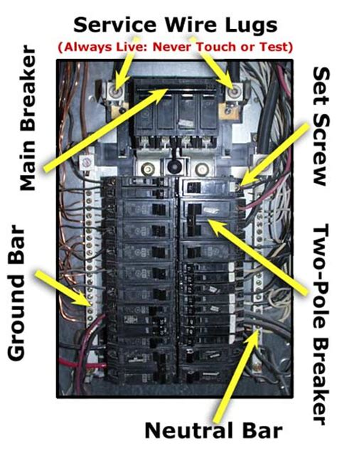 electrical wiring diagram 120 volt breaker box get free