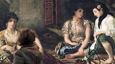 donne di algeri nei loro appartamenti una joven admira 171 las de argel en su aposento 187 de