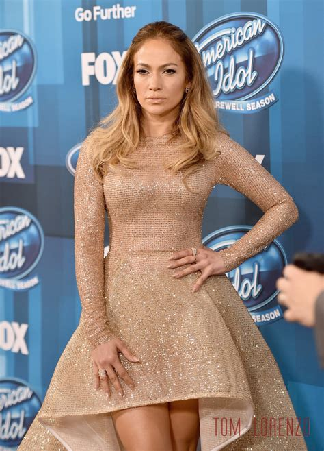 Jlo Psyched About American Idol by In Yas Couture At The Quot American Idol