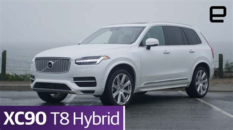 volvo xc  hybrid review youtube