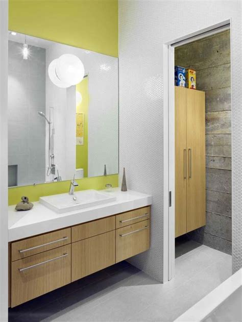 modern kids bathroom a perfect family house by zack de vito architecture