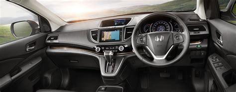 2015 Crv Interior by 2015 Honda Cr V Asean Interior Indian Autos