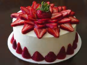 4 strawberry cake strawberry is blended and mixed with basic cake ingredients topped with