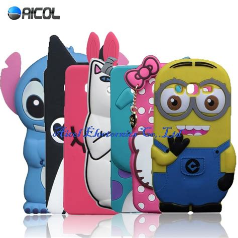 Samsung Galaxy J7 2017 Minion 3d Silikon Rubber Silicon Gal J 7 new 3d minions stitch silicone for samsung galaxy j5 j500 j500m j500f j500h suley