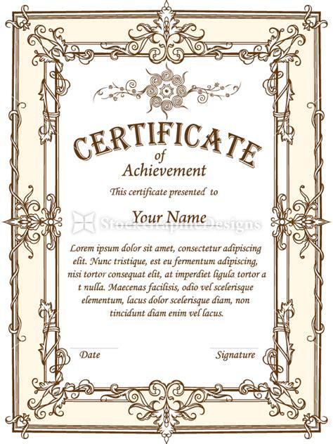 certificate design brushes photoshop certificate border vector set 1 vector photoshop