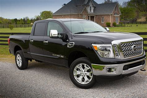 nissan diesel trucks nissan attacks truck market with gas powered titan xd