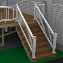 build stair handrail how to build a deck composite stairs and stair railings