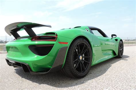 porsche 918 range viper green porsche 918 spyder for sale at 1 999 999