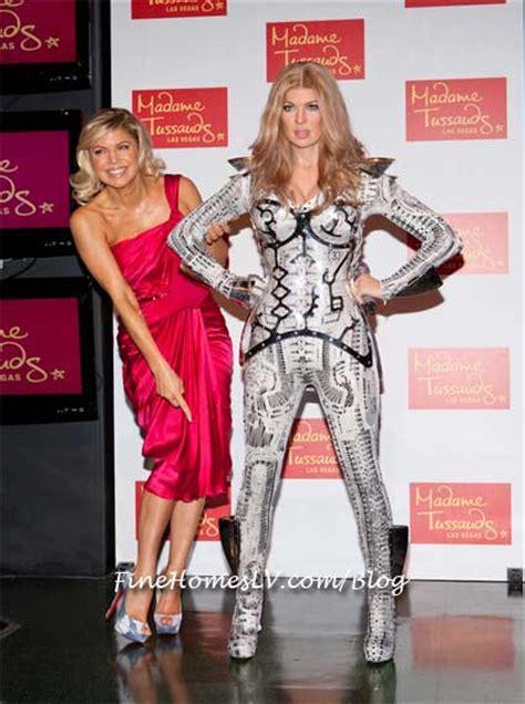 Longoria Being Up A Wax by Fergie Unveils Madame Tussauds Las Vegas Futuristic