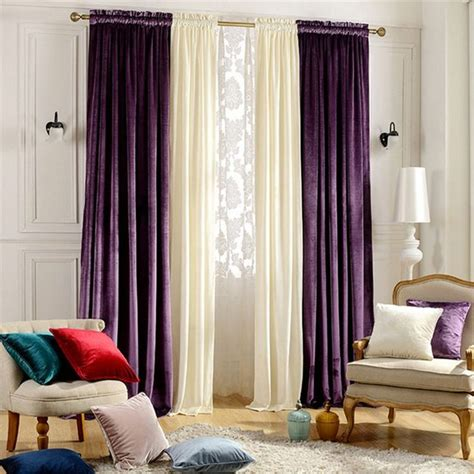 purple curtains for bedroom 1000 ideas about velvet curtains on pinterest double