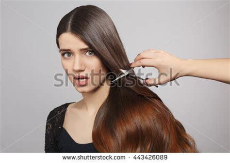 woman scissor cut hair styles haidressing stock photos royalty free images vectors