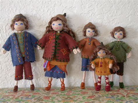 doll house figures dollhouse family dollhouse dolls wee folk waldorf