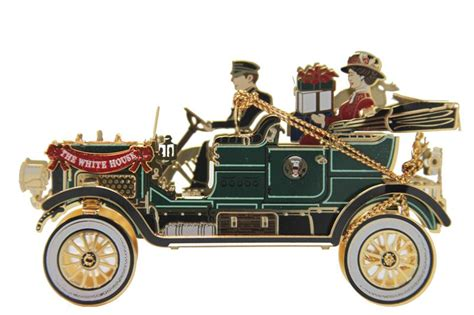 2012 official white house historical association taft ornament