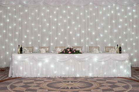 table drapes table swags and drapes laceys event services wedding