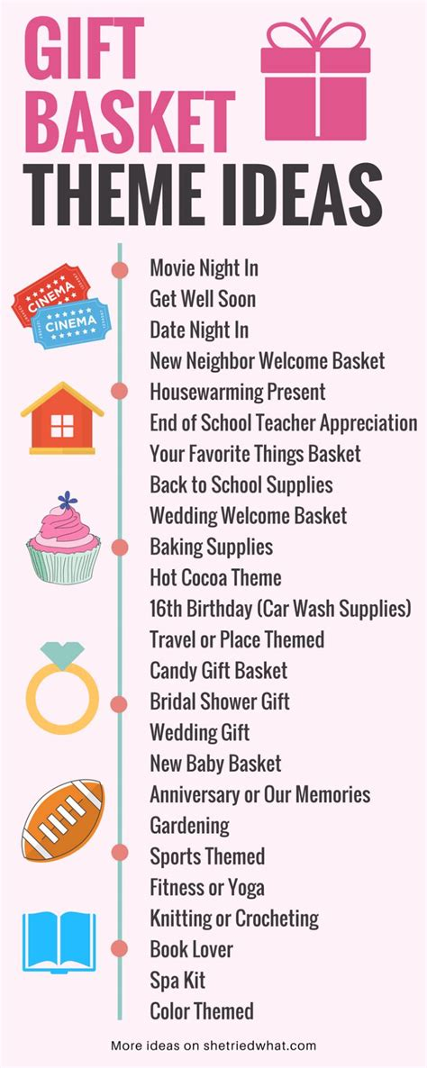 theme names 25 best ideas about diy gift baskets on