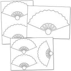 fan template printable fan template printable treats