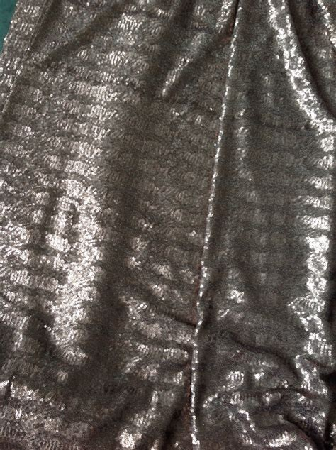 bronze sequin fabric rose gold sequin fabric sequin by