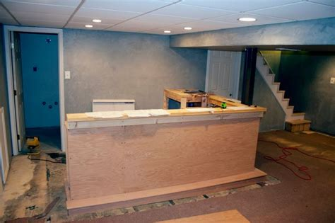 how to make a basement bar