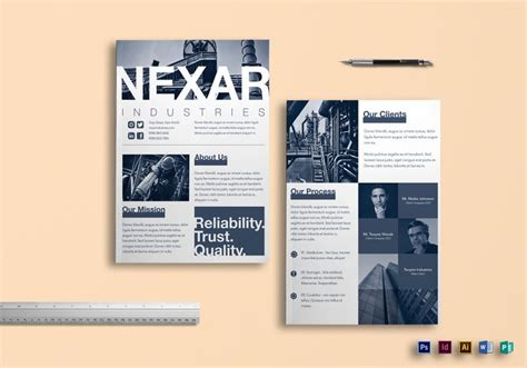 product brochure templates 9 helpful product brochure templates for non designers