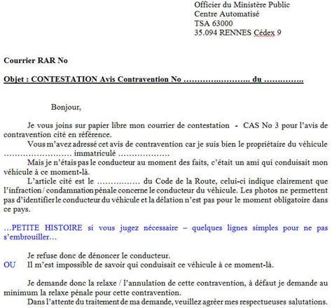 Exemple De Lettre Contestation Amende Permis Sauver Ses Points Pourquoi Comment Anarchozy