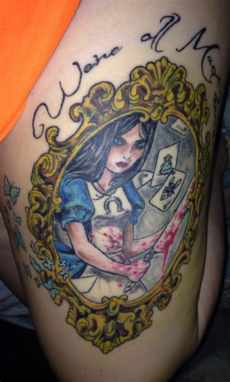 forever ink tattoo queens my third tattoo done by james alice from alice madness