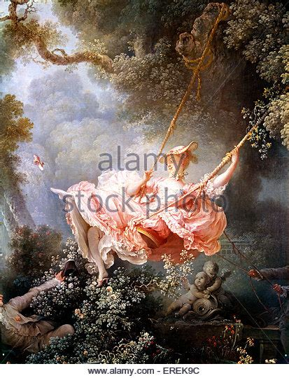 Fragonard The Swing 1767 by By Jean Honore Fragonard Stock Photos By Jean Honore