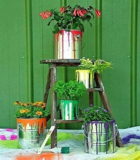 recycle home decor ideas upcycled garden decor ideas recycled things image