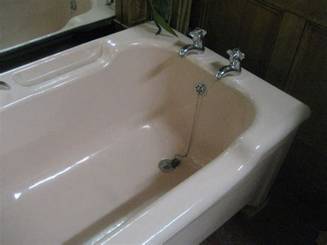 enamel bathtubs antiques atlas pink enamel bath