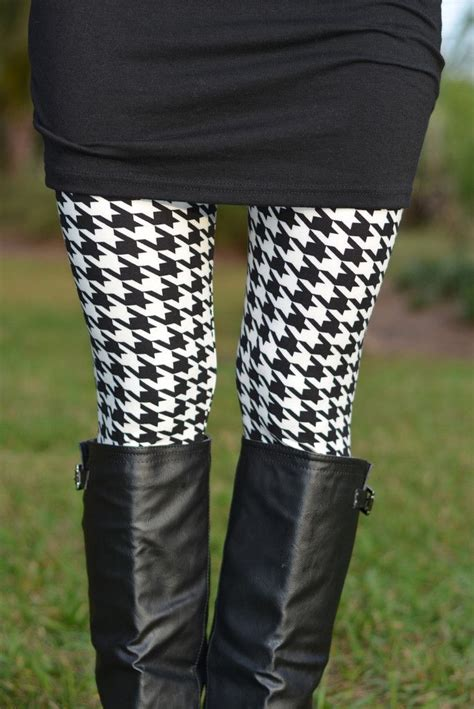 houndstooth pattern leggings 17 best ideas about houndstooth dress on pinterest