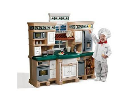 Lifestyle Deluxe Kitchen by Step2 Lifestyle Deluxe Kids Play Kitchen For Sale 150