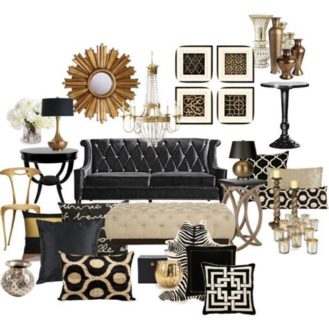 black white and gold home decor best 20 black couch decor ideas on pinterest