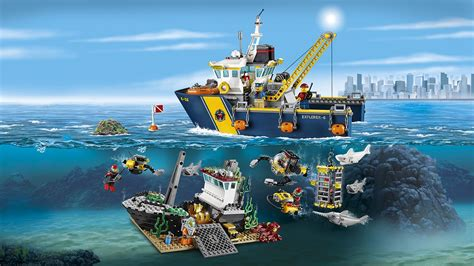 lego offshore boat home remake lego
