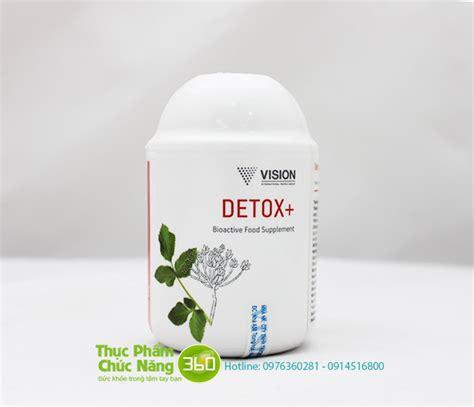 Vision Detox by Thực Phẩm Chức Năng Detox Vision Ch 237 Nh H 227 Ng 100