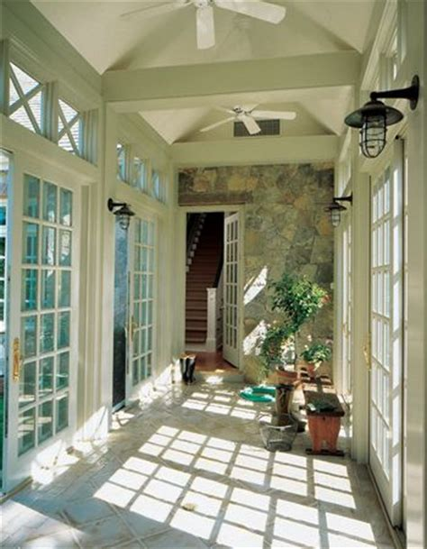angled garage with mudroom between screened porch off bkfst for breezeway traditional homes and seaside on pinterest