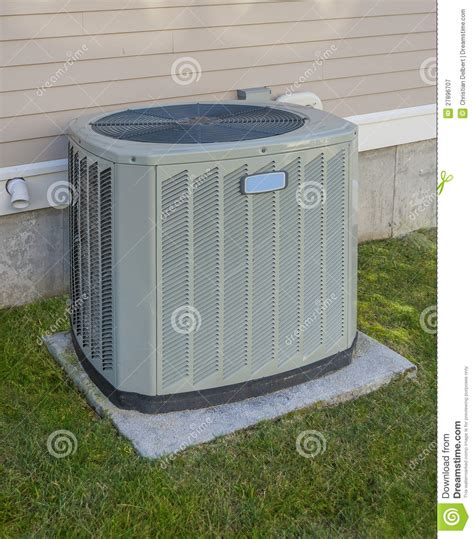 heating unit for house heating and cooling unit royalty free stock photography image 27896707
