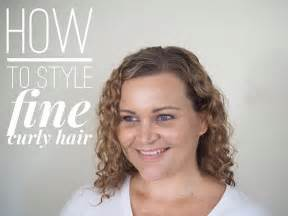 hairstyles for thin wiry curly hair how to style fine curly hair hair romance
