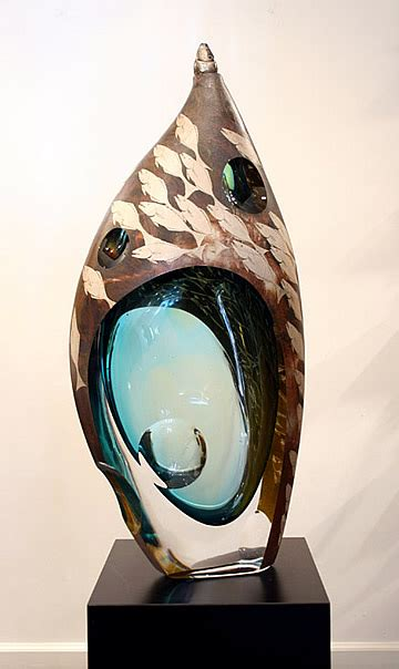 japanese glass hiroshi yamano japanese glass artist galleria silecchia hiroshi yamano