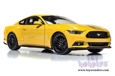 Mustang Auto Modelle by 2016 Ford Mustang Gt Top Aw229 1 18 Scale Auto World