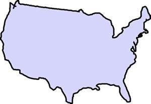 us states outline clipart clipart suggest