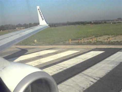 decollo aereo dalla cabina decollo ryanair roma ciino barcellona