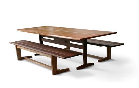 trestle table with benches kate s trestle benches city joinery