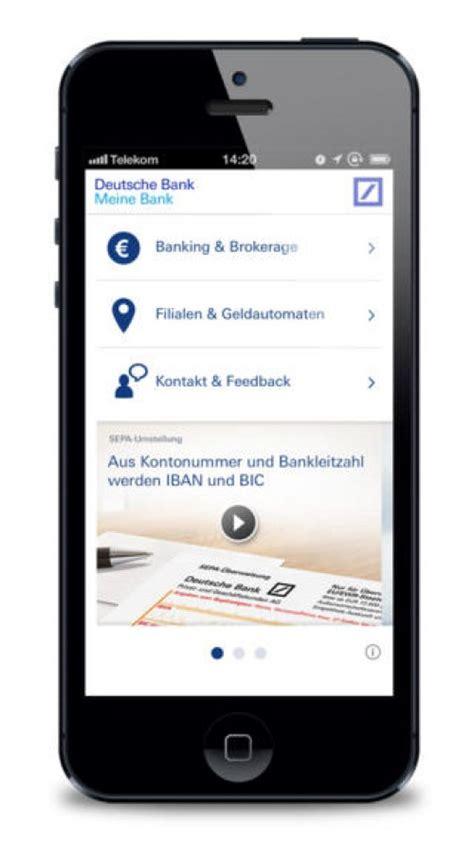 meine bank db app referenzen finanzen