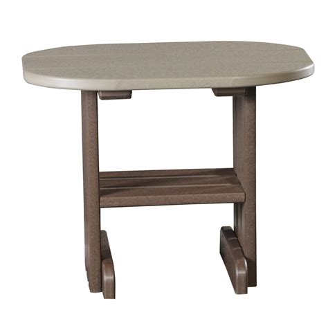 outdoor patio end tables outdoor end table recycled patio oak things