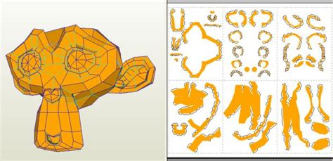 Papercraft Program - design papercrafts with cad software